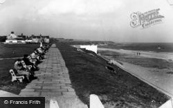 Whitburn, The Cliffs And Beach c.1955