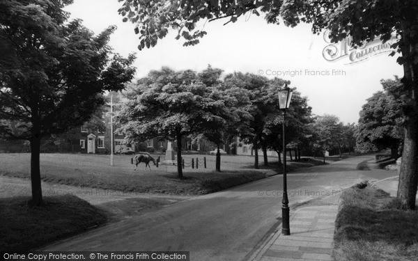Photo of Whitburn, The Memorial c.1955