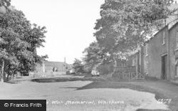 Whitburn, War Memorial c.1955
