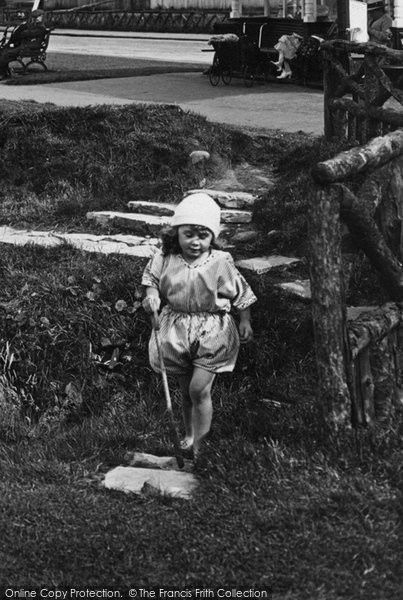 Photo of Whitby, A Little Girl 1923