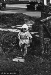 Whitby, A Little Girl 1923