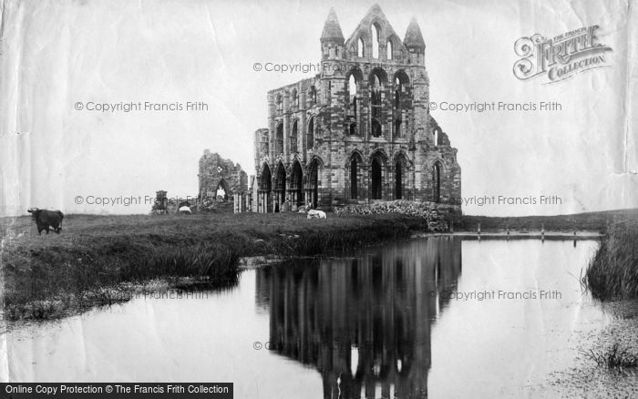 Photo of Whitby, Abbey 1897