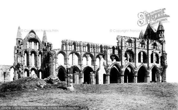 Photo of Whitby, Abbey 1901
