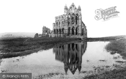 Whitby, Abbey 1901
