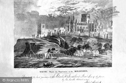 Whitby, Abbey Before The Suppression Of The Monasteries 1882