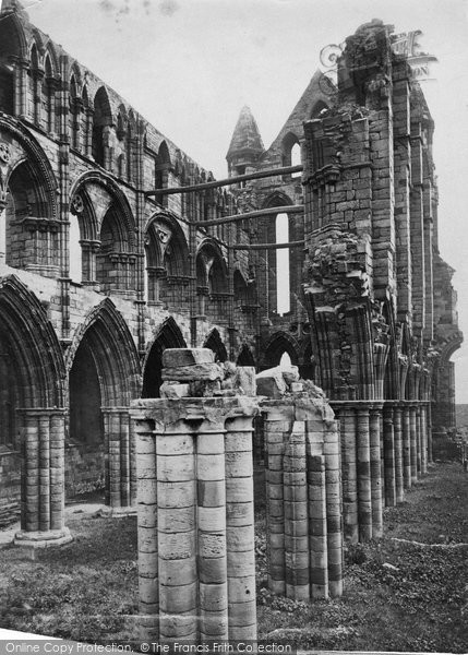 Photo of Whitby, Abbey c.1873