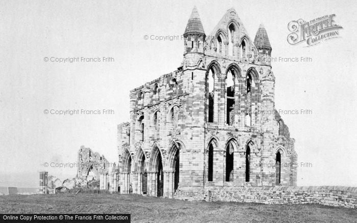 Photo of Whitby, Abbey c.1880