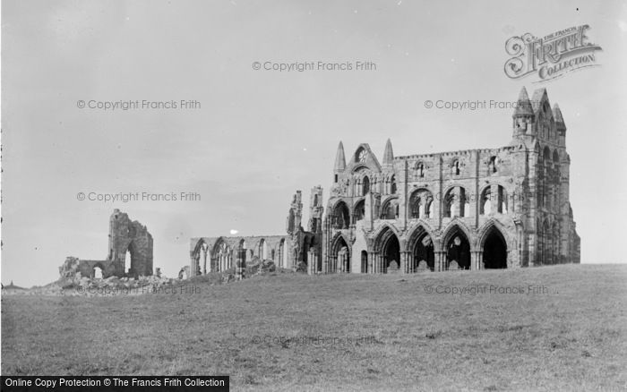 Photo of Whitby, Abbey Church 1890