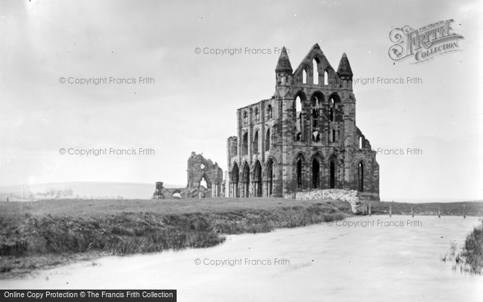 Photo of Whitby, Abbey Church c.1890