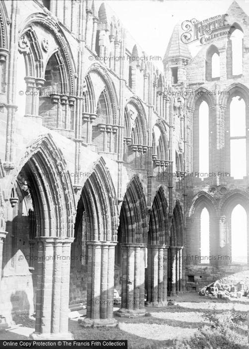 Photo of Whitby, Abbey Church Interior c.1890