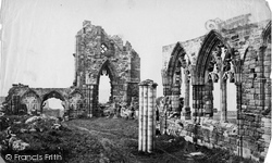 Whitby, Abbey Interior (Column) c.1878