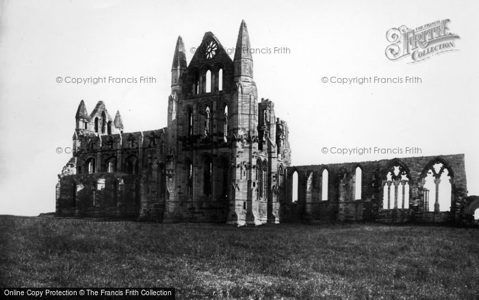 Photo of Whitby, Abbey, North Side 1897