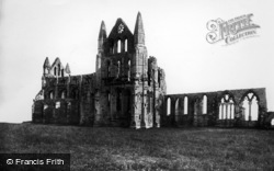 Whitby, Abbey, North Side 1897