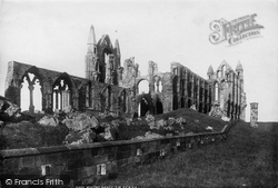 Whitby, Abbey South West 1897