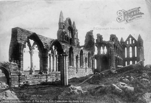 Photo of Whitby, Abbey South West 1901