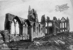 Whitby, Abbey South West 1901