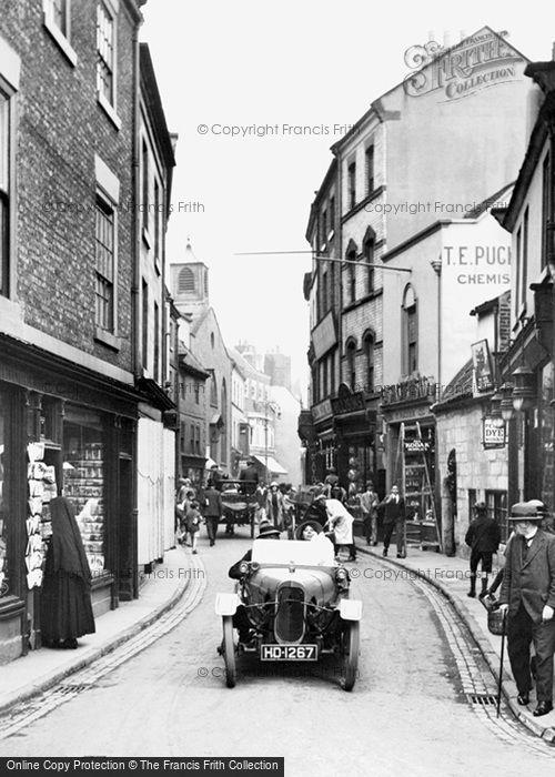 Photo of Whitby, Baxtergate 1923