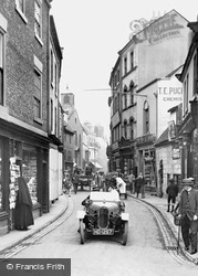 Whitby, Baxtergate 1923