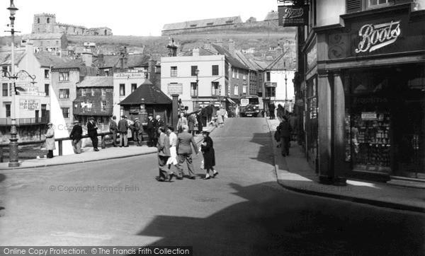Photo of Whitby, Bridge End c.1950