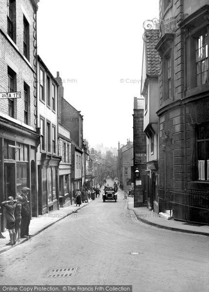 Photo of Whitby, Church Street 1925