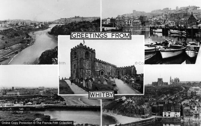 Photo of Whitby, Composite c.1955
