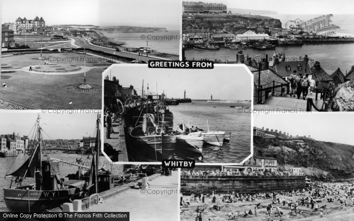 Photo of Whitby, Composite c.1960
