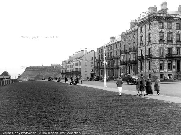 Photo of Whitby, Crescent Terrace 1925
