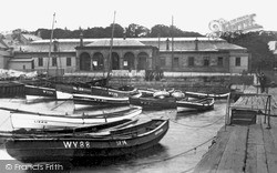 Whitby, Dock End And The Station 1930