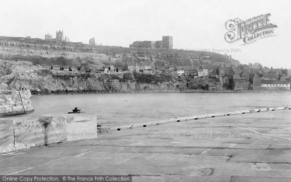 Photo of Whitby, East Cliff 1891
