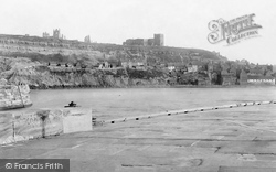 Whitby, East Cliff 1891