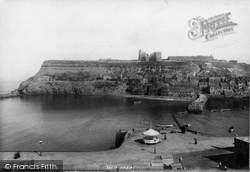Whitby, East Cliff 1897