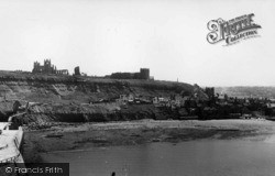 Whitby, East Cliff c.1955