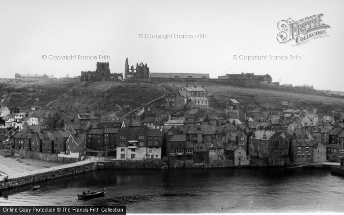 Photo of Whitby, East Cliff c.1955
