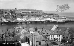 Whitby, East Cliff c.1960