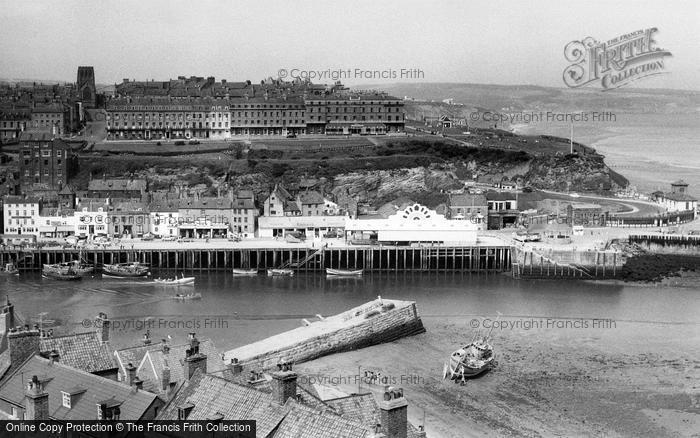 Photo of Whitby, East Cliff c.1960