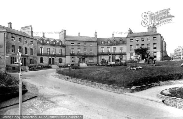 Photo of Whitby, East Crescent 1925