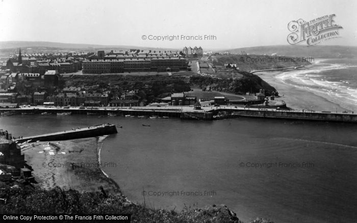 Photo of Whitby, From East Cliff 1934