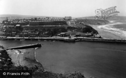 Whitby, From East Cliff 1934