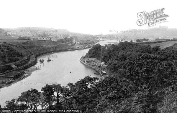 Photo of Whitby, From Lar Pool 1891