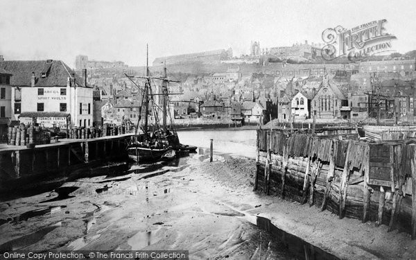 Photo of Whitby, From Railway Station c.1861