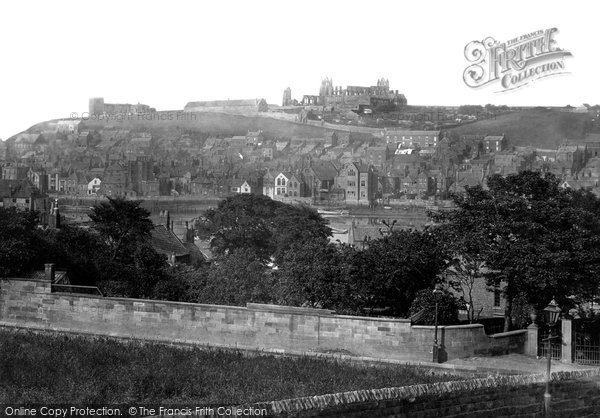 Photo of Whitby, From Spring Hill 1885