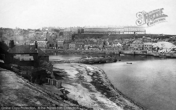 Photo of Whitby, From Tate Hill 1885