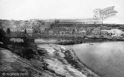 Whitby, From Tate Hill 1885
