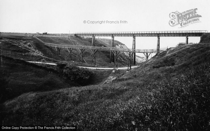 Photo of Whitby, Golf Links, The Ravine And Bridges 1913