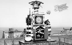 Whitby, Guinness Clock c.1955