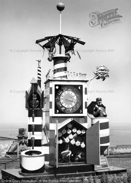 Photo of Whitby, Guinness Clock c.1955