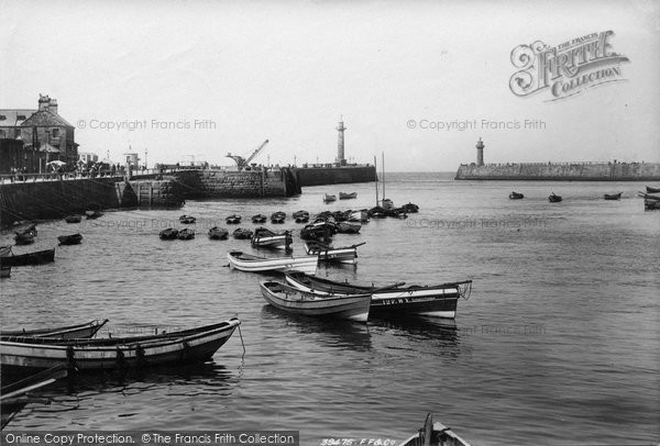 Photo of Whitby, Harbour 1897