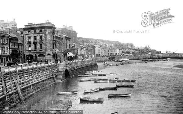 Photo of Whitby, Harbour 1901