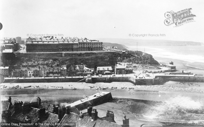 Photo of Whitby, Harbour Entrance 1930
