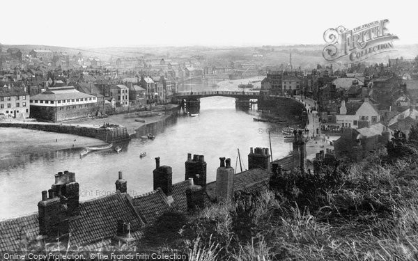 Photo of Whitby, Harbour To Larpool 1913